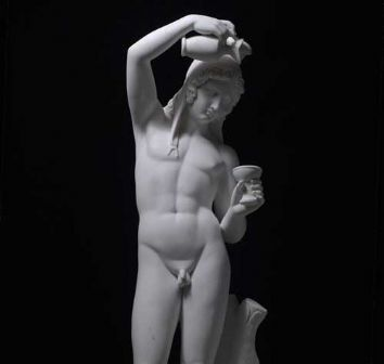 From the Thorvaldsen Collection - Ganymede filling the Cup