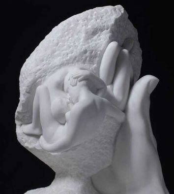 From the Rodin Portfolio - The Hand of God