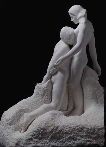 From the Rodin Portfolio - The Eternal Idol