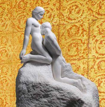 From the Rodin Portfolio - The Eternal Idol